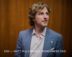 EDC - Matt Mullenweg, Wordpress CEO