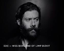 Wes Borland of Limp Bizkit